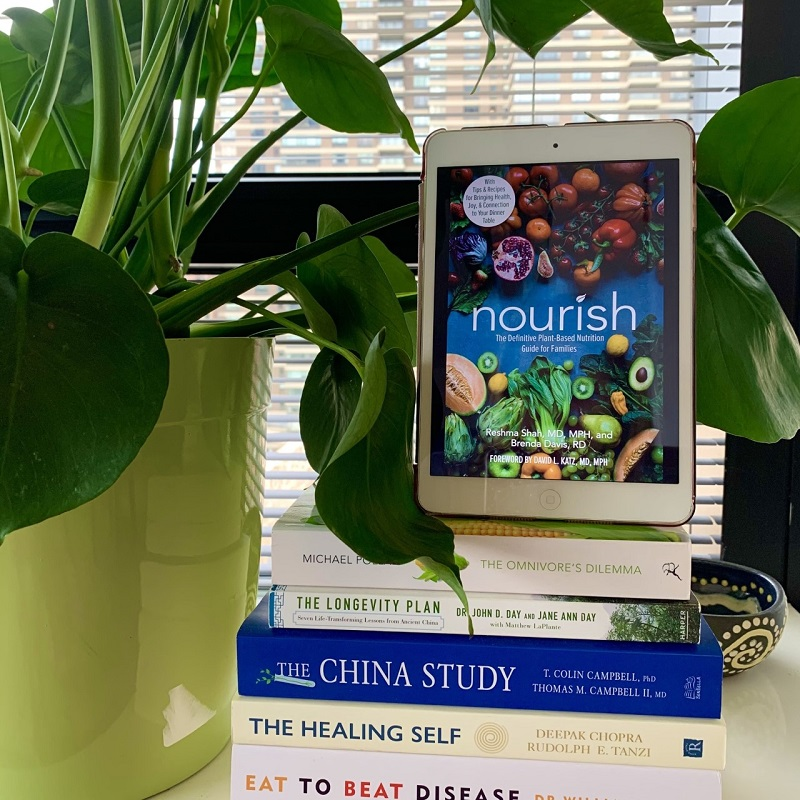 Nourish near a plant and other health books