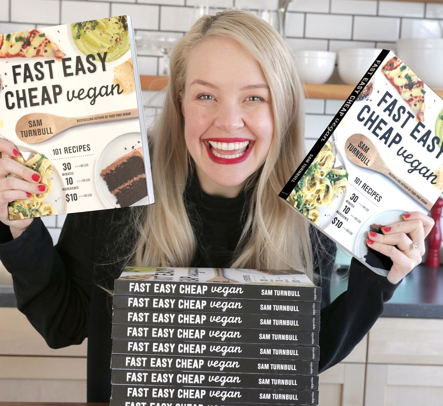 Sam and Fast Easy Cheap Vegan